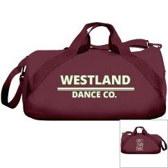 Westland Glow in the dark Maroon dance bag