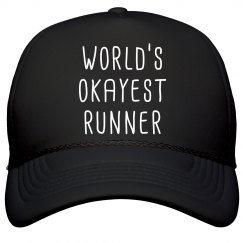 World's Okayest Runner Hat