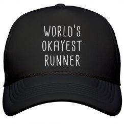 World's Okayest Runner Hat