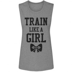 Train Like A Girl Workout Tank