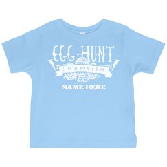 Custom Name Egg Hunt Tee