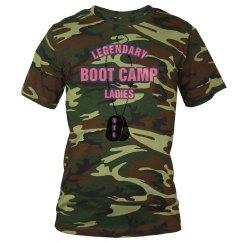 Boot Camp Tee - Woodland Cameo Pink