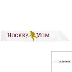Band Hockey Mom REVERSABLE SASH