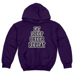 Eat.sleep.cheer.repeat.
