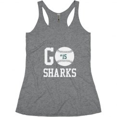 Go Sharks Mom Tank