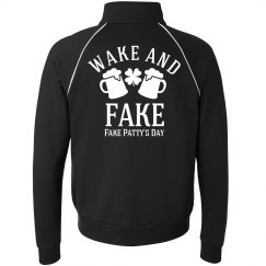 Wake and Fake St Pattys Day Guy