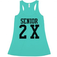 2018 Custom Senior Flowy Tank