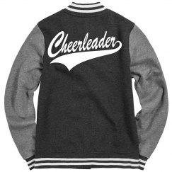 Cheerleader Letterman Jacket