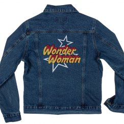 Vintage Wonder Woman Denim Jacket