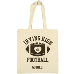 Irving High Football Bag