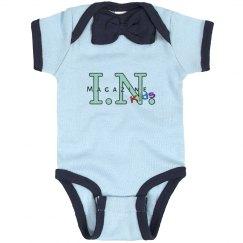 I.N. Baby Boy Tie Onesie