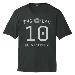 Custom Football Dad Shirt Design