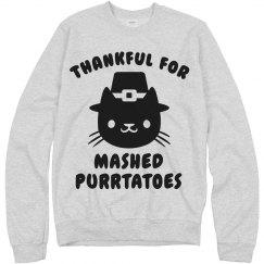 Thankful Cat Thanksgiving