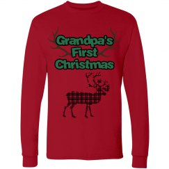 Grandpa's First Christmas - Long Sleeve