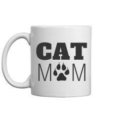 Cat Mom Mother's Day Pet Gifts