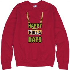 Happy Holla Days Holidays