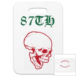 87TH PLANE LUGGAGE TAG