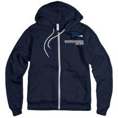 Unisex Fleece Full Zip Midweight Hoodie