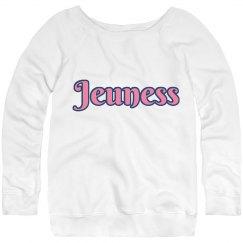 Jeuness White Sweatshirt