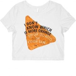 Orange Dorito or Tan?