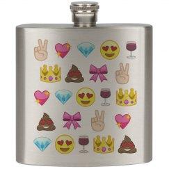 Emoji Drinking Pattern