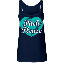 Pitch Please softball tank