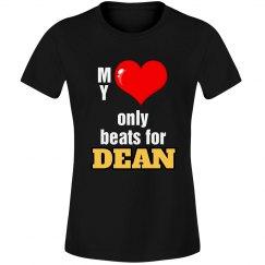 Heart beats for Dean