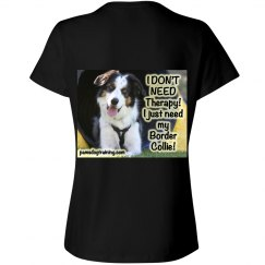 I don't need therapy, I just need my border collie