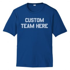 Your Team Here Colorblock Tee