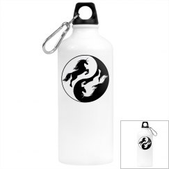 Yin Yang Unicorn Bottle