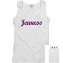 Jeuness White Tank Top (The Best)