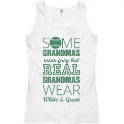 Grandmas A Baseball Fan