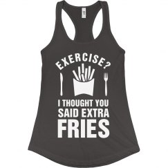 Extra Fries Exercise