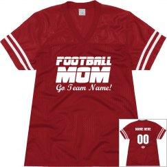 Football Mom Custom Jersey