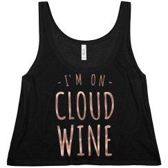 Rose Gold Metallic Cloud Wine