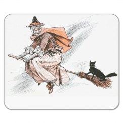 Witch Halloween Mousepad