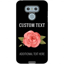 Custom Floral Android Phone Case