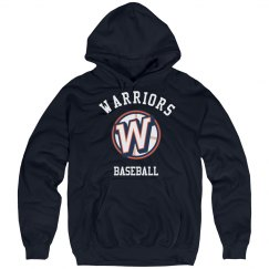 Adult Warriors Baseball Hoodie