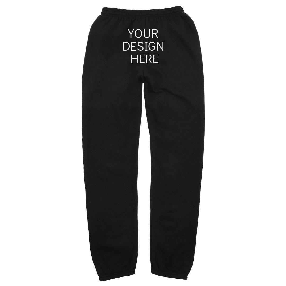 Youth Boys I Wear Pink for My Nana Teen Sweatpants Sport Fleece Jogger Back Pocket Black