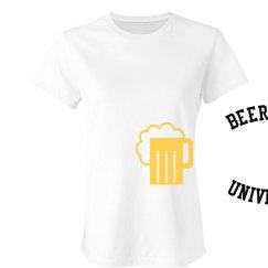 Beer Pong Univ tee