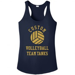 Custom Volleyball Team Designs