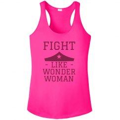 Breast Cancer Fight Like A Super Hero