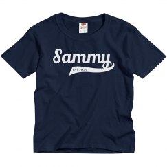 Sammy personalized Shirt