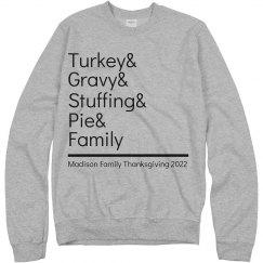Turkey & Gravy & Family
