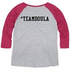 #team Doula Raglan
