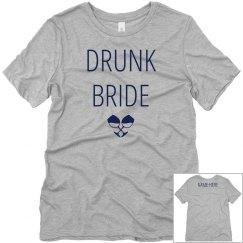 Custom Wine Drunk Bride