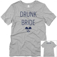 Custom Wine Drunk Bride