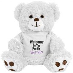Welcome Sister Bear