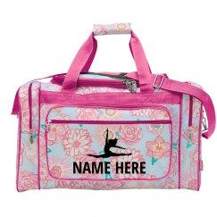 Custom Name Cute Dance Bag