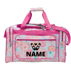 Custom Name Dance Weekender Bag